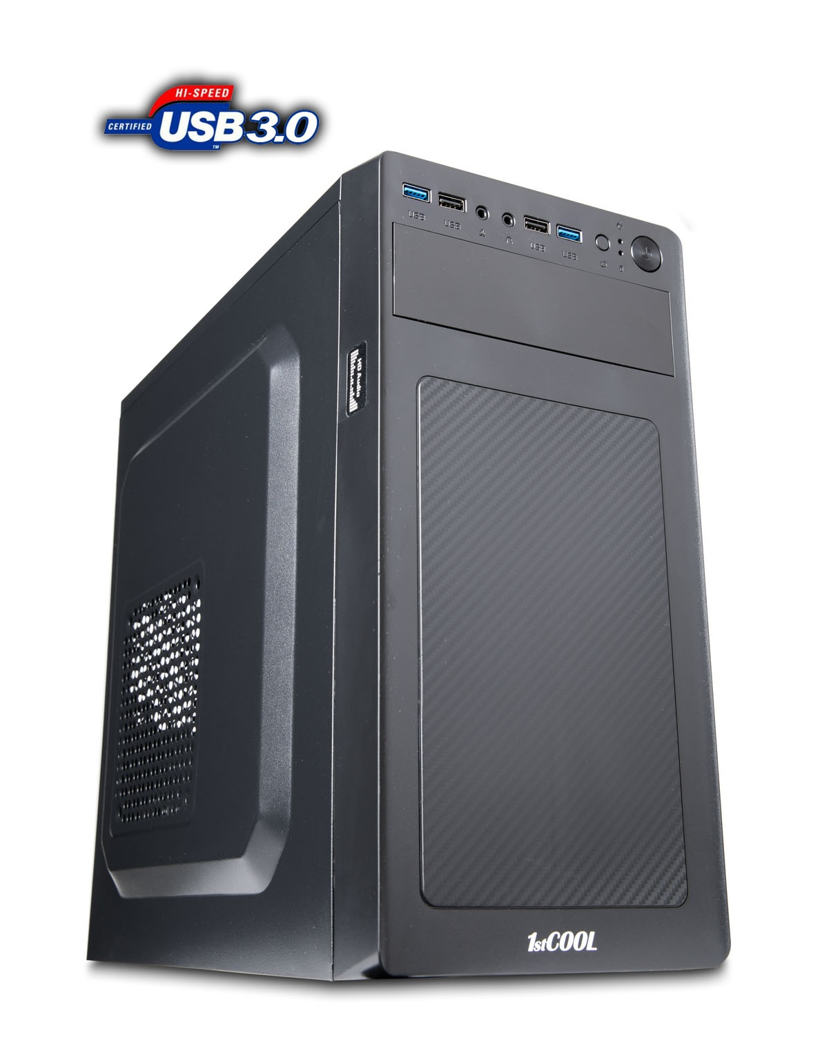 1stCOOL MicroTower STEP 3, ver.3,  AU, USB3.0, CR