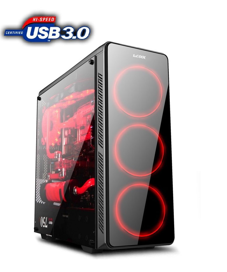 1stCOOL FullTower GAMER 3, AU, USB3.0