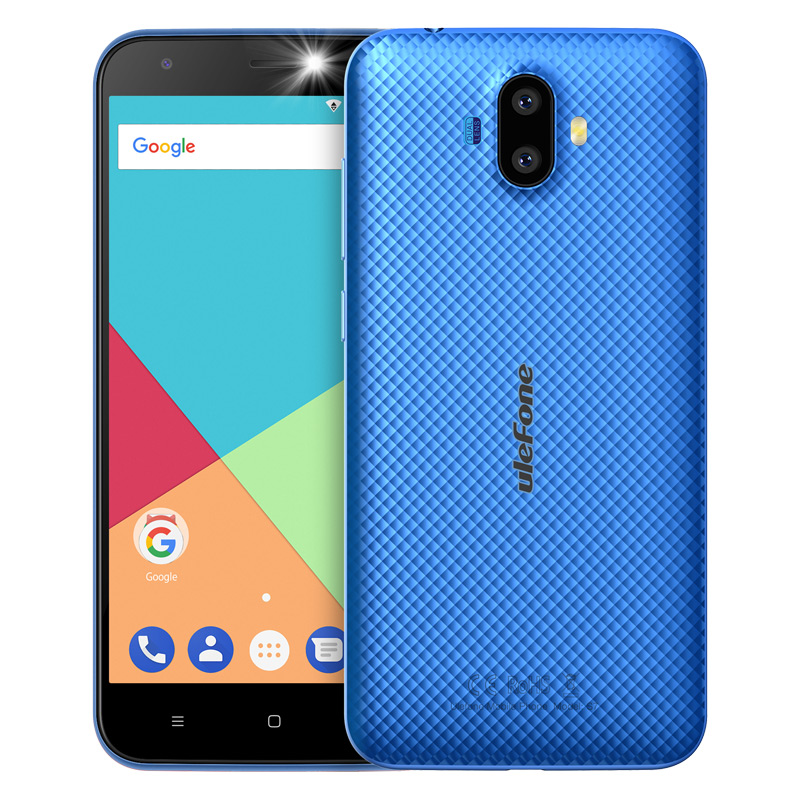 "ECP UleFone smartphone S7  5"" Blue Android 7 dual camera"