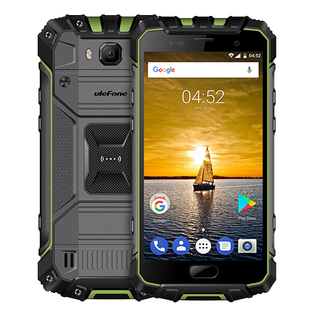 "ECP UleFone smartphone Armor 2S 5"" Grey-green 2/16GB Android 7 4G LTE"