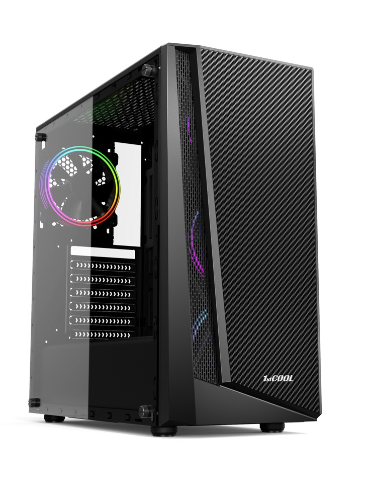 1stCOOL MiddleTower RAINBOW 3, AU, USB3.0